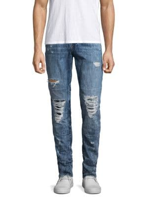 Rocco Slim Fit Distressed Jeans