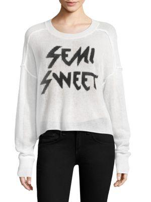 Semi Sweet Demi Cashmere Sweater