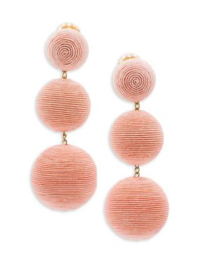 Laeticia Classic 3 Drop Earrings by Rebecca De Ravenel