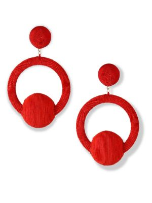 Linda Hoop La La Earrings