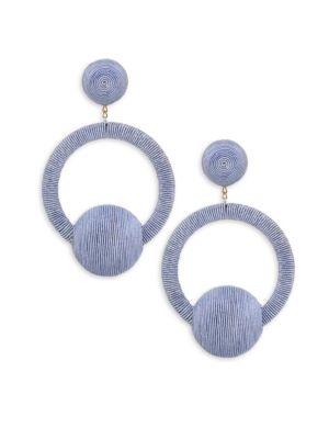 Claudia Hoop La La Earrings