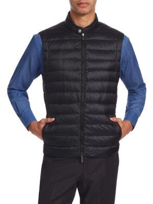 Microfiber Puffer Vest