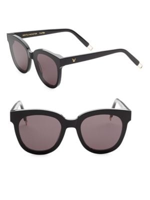 In Scarlet Tinted Square Sunglasses