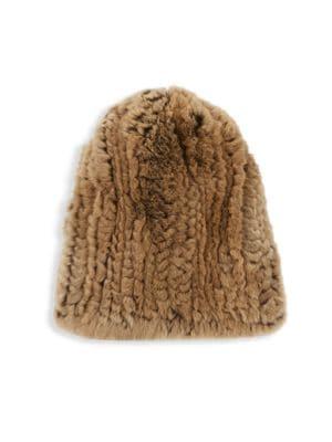 dd6365351d2 SURELL Rex Rabbit Fur Hat
