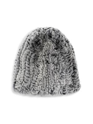 49f5aaaf0bd SURELL REX RABBIT FUR HAT
