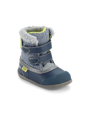 Baby's & Toddler's Double-Strap Waterproof Boots