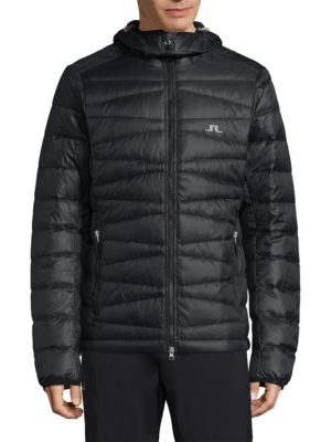 Ski Radiator Quilted Down Hooded Jacket