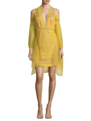 Maze Mini Fit & Flare Dress