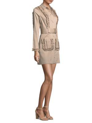 Dawson Belted Shirt Dress