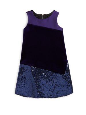Girl's A-Line Shift Dress
