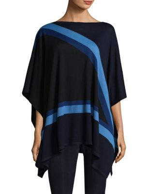 Jersey Knit Poncho