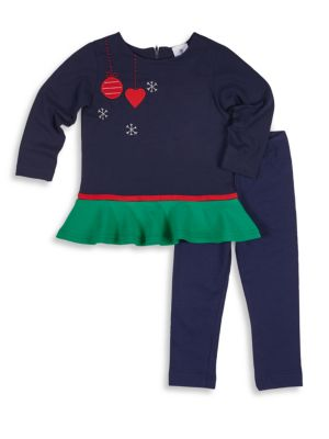Baby's & Toddler's Two-Piece Top & Pants Set