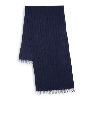 Frayed Cashmere Scarf