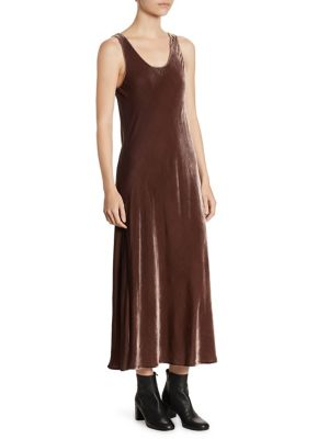 Velvet Tank Midi Dress