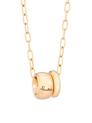 Iconica 18K Rose Gold Pendant Necklace