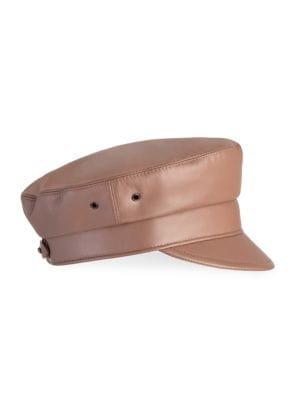 Night Porter Leather Cap
