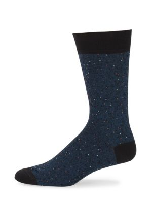Mid-Calf Classic Donegal Cotton Socks