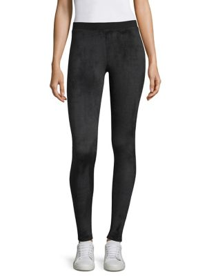 Velour Yoga Tights