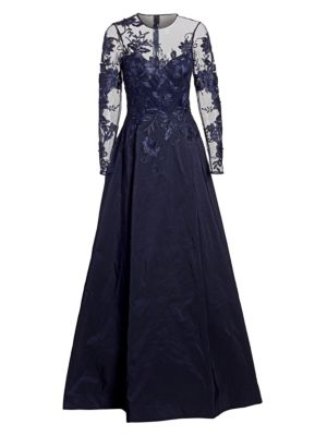Illusion Ball Gown