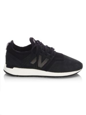 Nubuck Leather Sneakers
