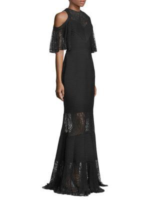 Pintuck Dot Jersey Gown