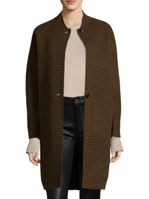 Darwen Reversible Plaid Coat