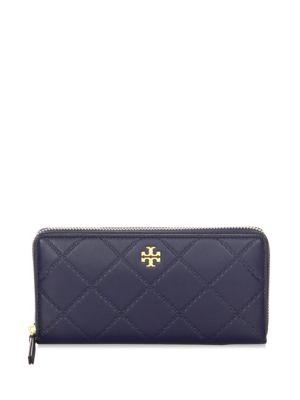 Georgia Leather Zip-Around Wallet