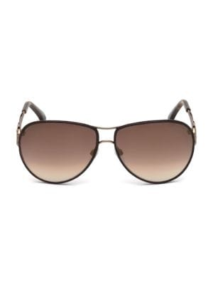 Monogram Crest Aviator Sunglasses