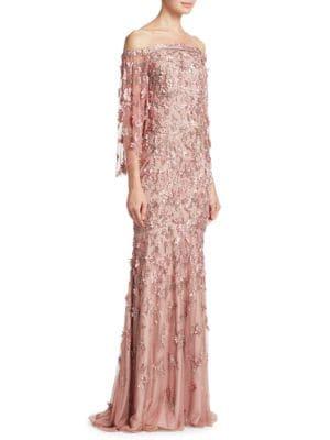 Vintage Column Gown