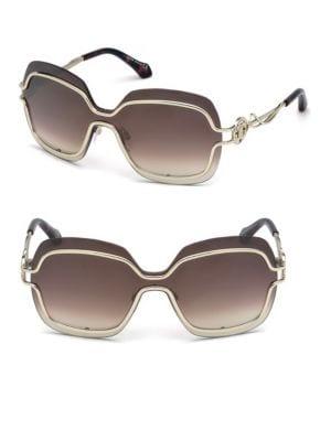 135MM Oversized Square Glasses