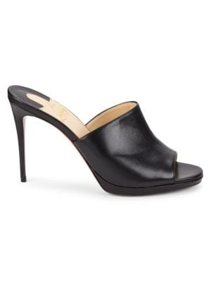 Pigamule 100 Leather Mule