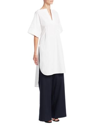 Poplin Tunic Blouse