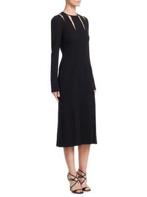 Stretch Wool Dress