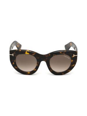 Marcella 48MM Thick Cat-Eye Sunglasses