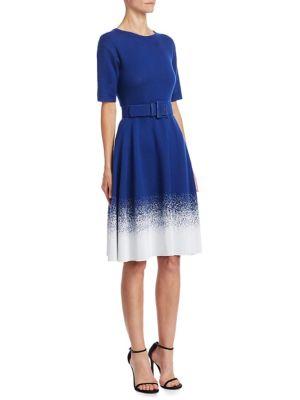Faded Wool Dress