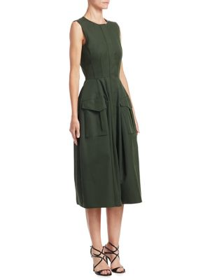 Cotton Twill Dress