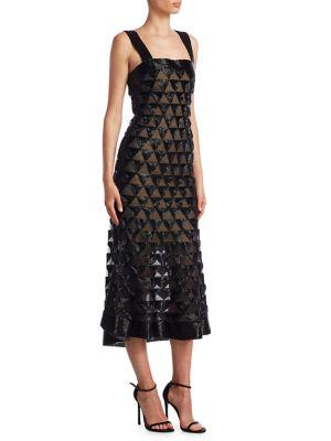 Buy Oscar de la Renta Triangle Cocktail Dress online with Australia wide shipping