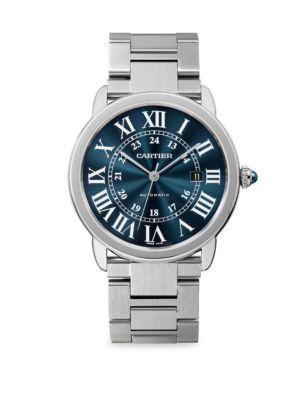 Ronde Solo de Cartier Stainless Steel Bracelet Watch 0400095856266