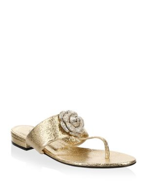 Isla Leather Thong Sandals
