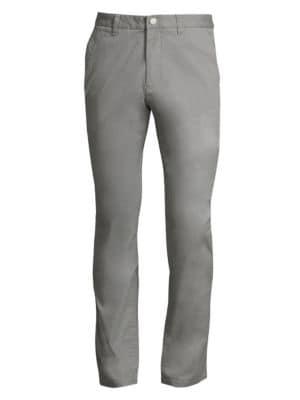Tailored Stretch Washed Chino Pants