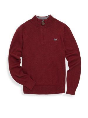 Toddler's, Little Boy's & Boy's Classic Cotton Sweater