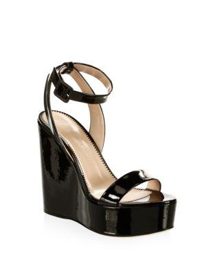 Gipsy Leather Platform Wedge Sandals