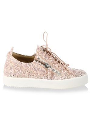 May London Leather Fashion Sneakers 0400095865659