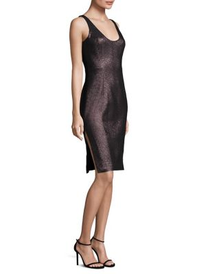 Stretch Lurex Cora Sheath Dress
