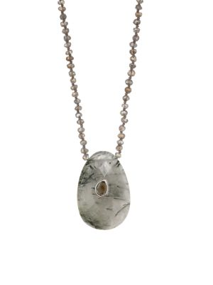 Mystic Labradorite Mix Necklace