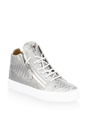 May London High Top Leather Sneakers