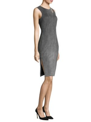 Fractured Sheath Dress