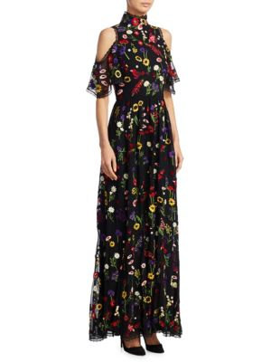 Adella Floral Gown