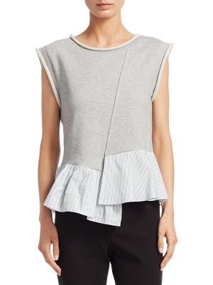 French Terry Cotton Top