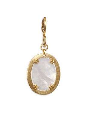 Paris Mother-Of-Pearl Oval Pendant
